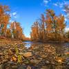 Mission Creek Autum Panoramic