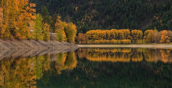 Dry Lake Autumn Aspens 2016