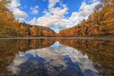 On The Surface- Twin Lakes Autumn