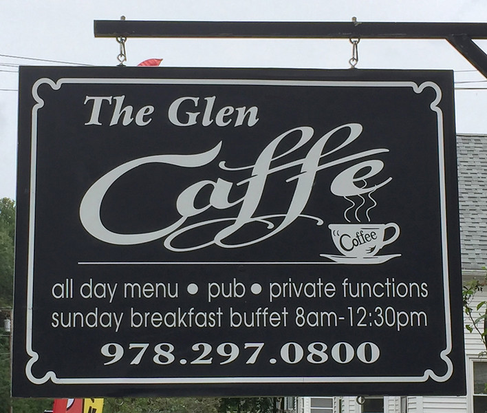 Glen Caffe, 63 Glenallen Street (Rt 202), Winchendon, MA. August 29, 2017.