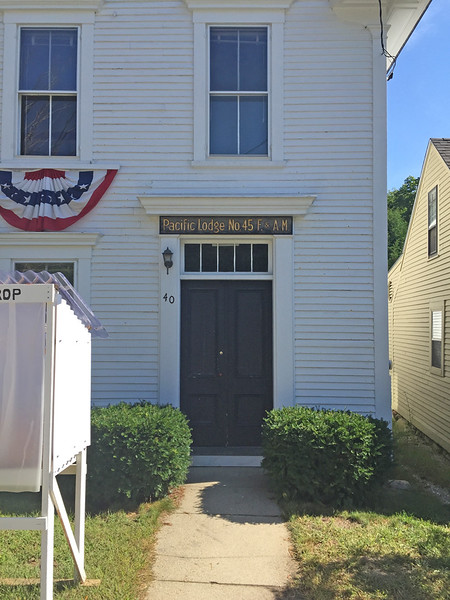 Francestown Improvement & Historical Society. September 9, 2015. Former Masonic Hall.