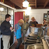 JHS Autumn Outing. October 15, 2017. Don O'Neil (President, WHS) in the ice cream counter.