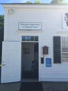 Francestown Improvement & Historical Society. September 9, 2015.