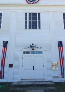 Former Academy. Francestown Improvement & Historical Society. September 9, 2015.