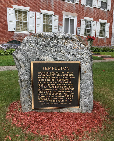 Templeton Historical Society, Templeton, MA. Aaugust 29, 2017. Future Autumn Outing destination.
