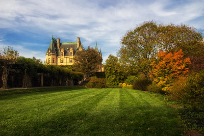 Biltmore Mansion Autumn