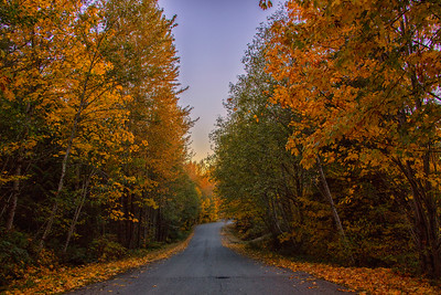 Fall Road to Snoqualmie Point Park