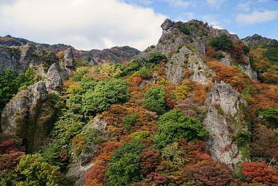 小豆島、寒霞渓 (kankakei canyon, Shodoshima Island, Japan)