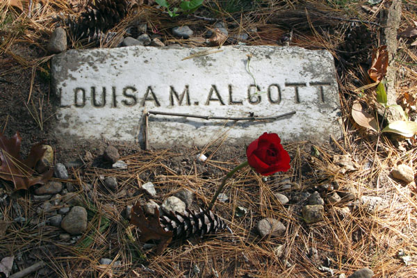 Grave of Louisa May Alcott, Sleepy Hollow Cemetery