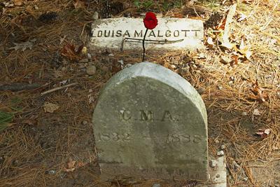 Grave of Louisa May Alcott, Sleepy Hollow Cemetery