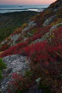 Cadillac Mountain Sunset - Acadia National Park, Maine - Andrew Ehrlich - October 2013