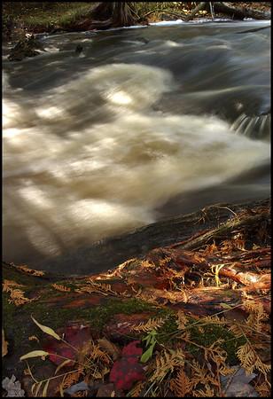 Autumn on the Rock River - Naubinway, Michigan