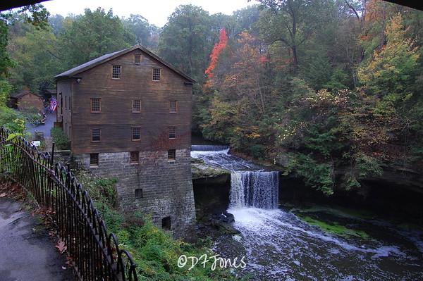 Lanterman's Mill, built 1845
