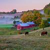 Dawn at Jenne Farm, Reading, VT