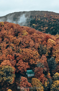 Cabin in the Fall, Pennsylvania