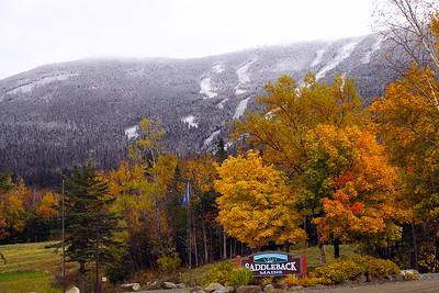 Autumn Colors at Saddleback Mountain