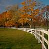 Autumn Fence, Topsfield, MA