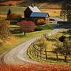 Autumn Farmhouse, Vermont