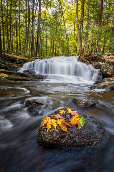 Tucker Brook Falls, Milford, NH