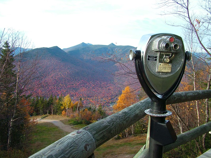 top of Loon Mt. - Lincoln, NH