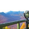 view from top of Loon Mt - Lincoln, NH