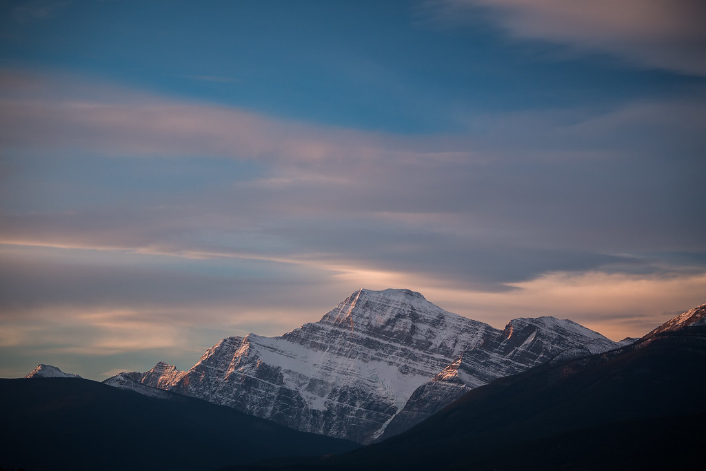 Morning on Mt. Edith Cavell