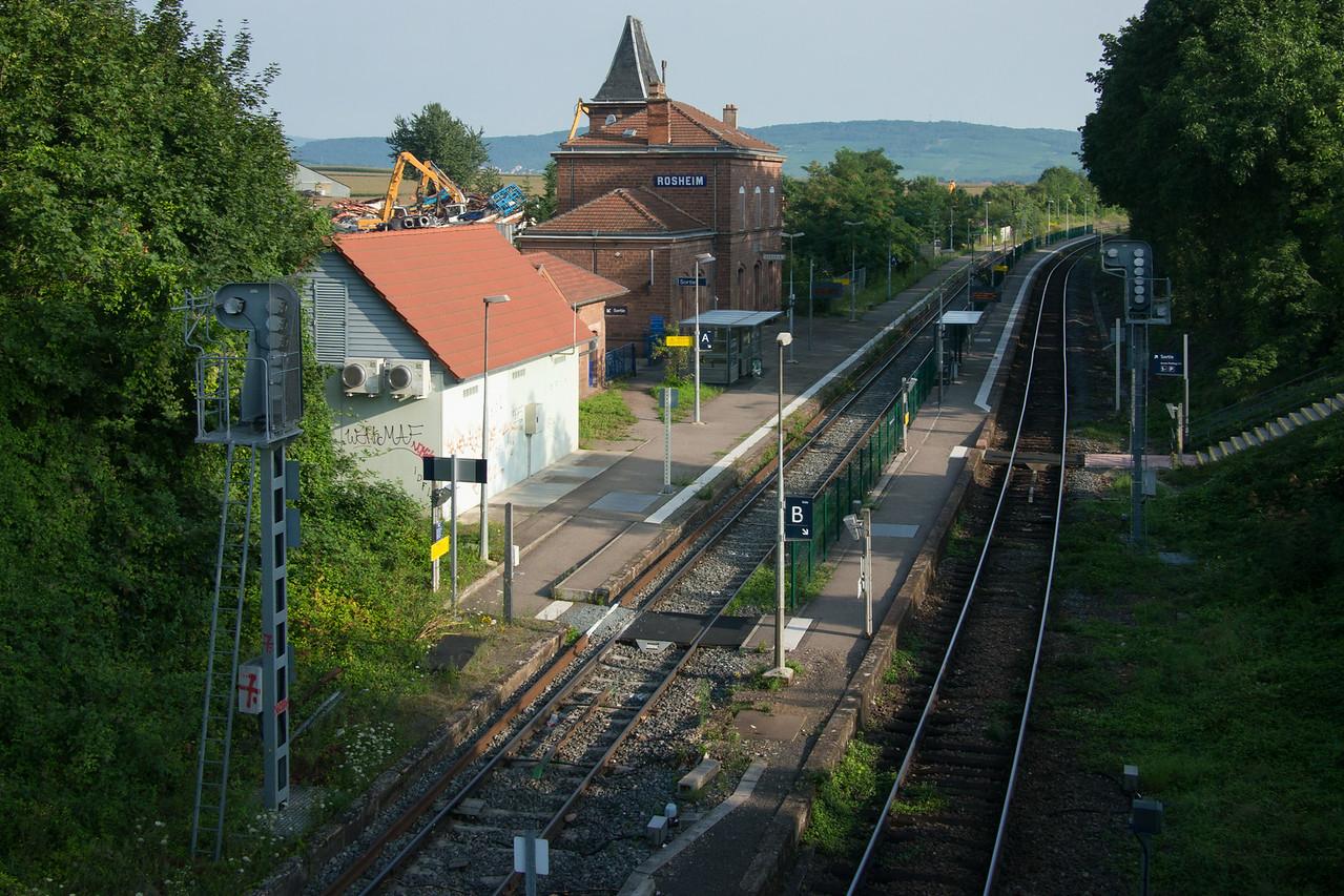 Arrivée à Rosheim