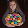 2017 April 11  Ava and her Easter Eggs