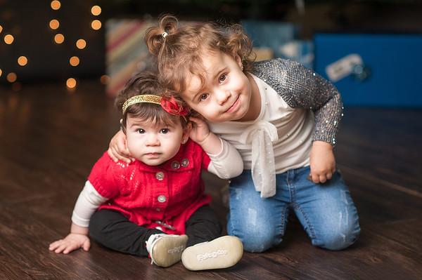 Ava & Michaela's Christmas Mini Session 2016