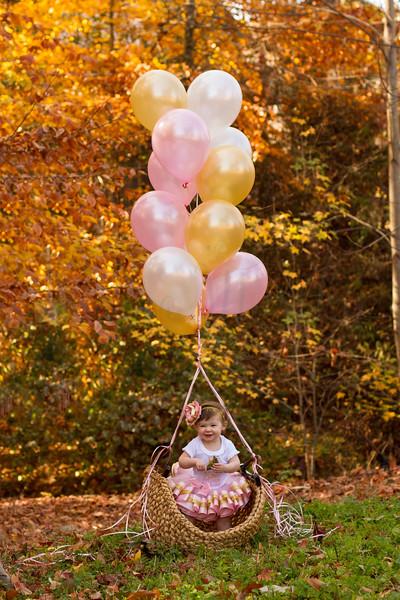 Ava Simpson- 1st Birthday
