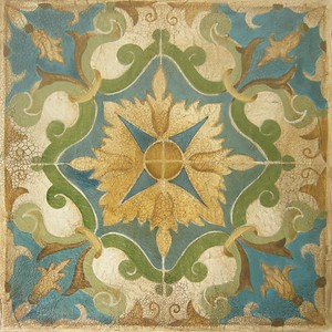 San Miguel Tile III-Jardine, 20x20 on canvas (AELJC17-3-22)