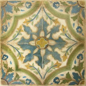 San Miguel Tiles II-Jardine, 20x20 on canvas (AELJC17-3-21)