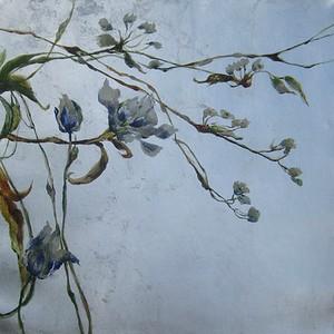 Hidden Beauty III-Jardine,  20x20 canvas