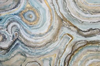 Aqua Geode-Jardine, 60x40