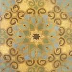Alhambra Tiles II-Jardine, 20x20 canvas