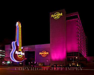 Hard Rock Cafe and Hotel on the beach in Biloxi, Ms.