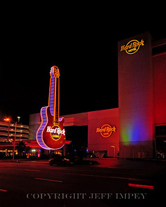 Hard Rock Casino and Hotel, on the beach in Biloxi Mississippi