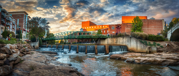"Greenville's ""Upper"" Falls"