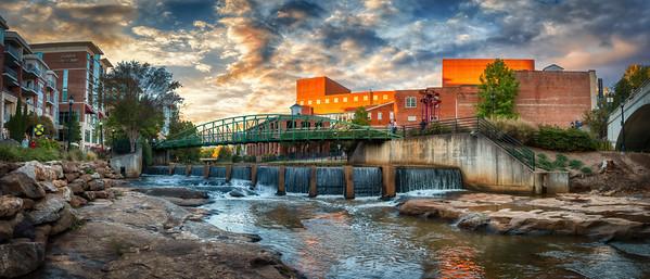 """Greenville's """"Upper"""" Falls"""