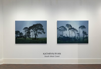 Home Paddock & Fenceline Pines, oil on linen 112 x 152cm $10,500 each