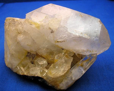 Quartz Double Terminated on Matrix