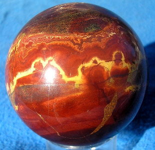 Petrified Wood Sphere 101
