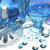 """BLUE MOON"" ~ 30"" x 44"" ~ $5800"