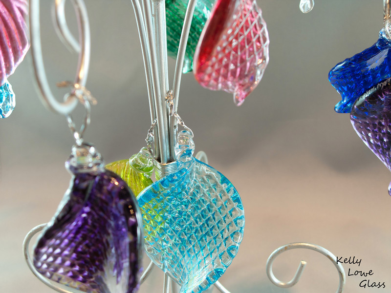 Hand Sculpted Hanging Ornaments: