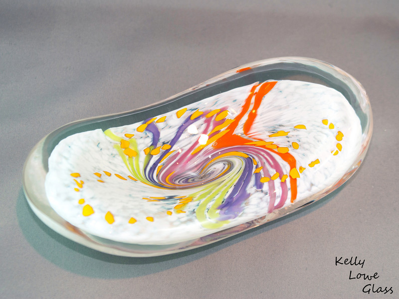 "Paperweight Dimensions:  Long: Approx 20cm (7.87"") Wide: Approx 10cm (3.94"") Highest Point: Approx 8cm (3.15"") Weight: Approx 1200g (2.65 lbs)  The pictures included here are of the specific piece for sale."