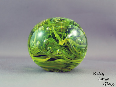 "Glass Paperweight:  Widest Point: 8.5cm (3.35"") Height: 7.5cm (2.95"") Weight: Approx 772g (1.7 lbs)"