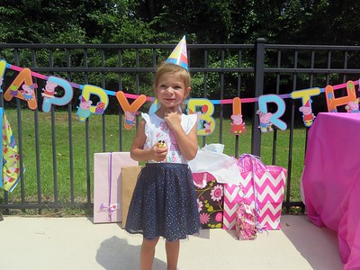 Ava's 3rd Birthday Party 7-14-18