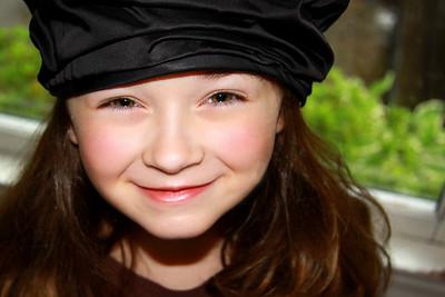 photo ava close up bk hat PRINT