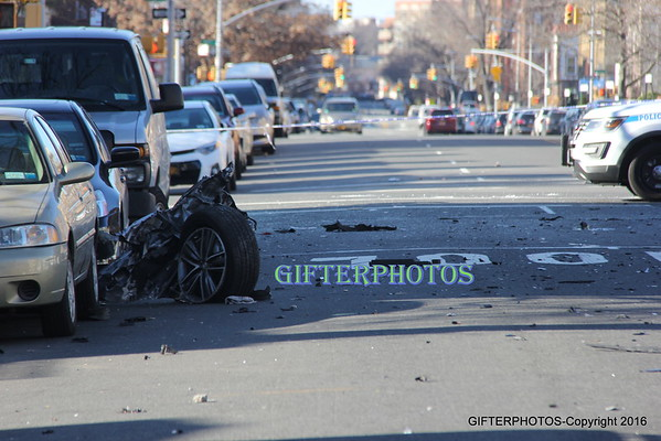 Ave P W.2 St Fatal Accident Scene-