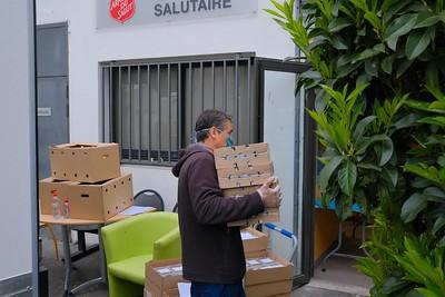 Avec l'Armée du salut (Seine-Saint-Denis)